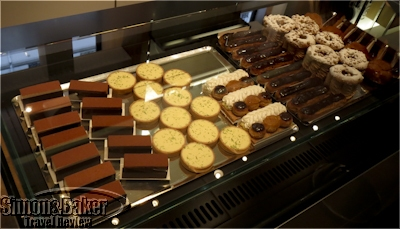 Pastries made with traditional methods are also available