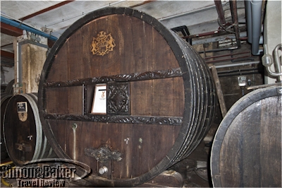 The Sainte Catherine cask dates back to 1715 and is still in use today
