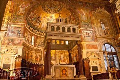 Santa Maria Maggiore high altar
