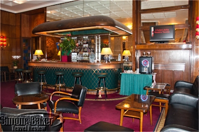 The bar at the hotel mediterraneo