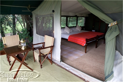Our room at the Elephant Pepper Camp