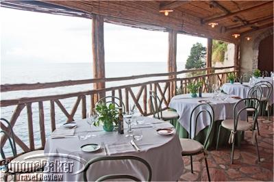 Al Mare Restaurant terrace