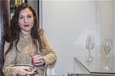Fanny Heucq introduced me to the various shapes of Champagne flutes for optimal tasting