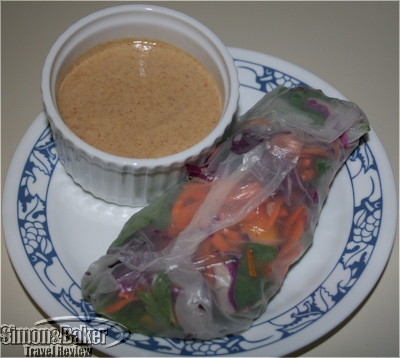 Vietnamese Salad Rolls with Dragon Dipping Sauce