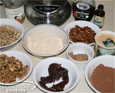 Ingredients for the Righteous Brownies with Caramel Frosting