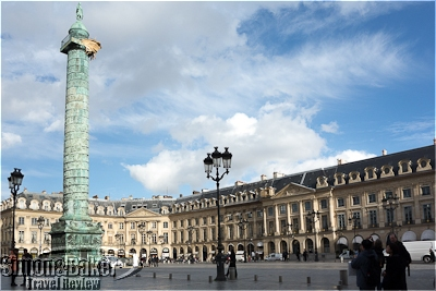 Place Vendome was only a few minutes' walk from Le Burgundy
