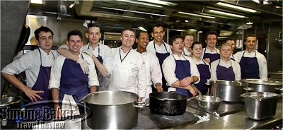 The chef and his team