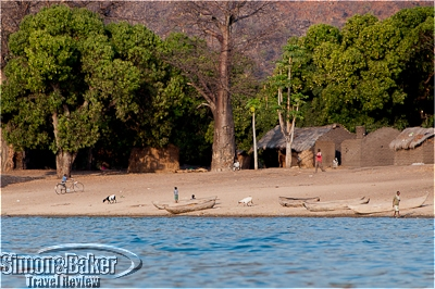 The shores of Lake Malawi were dotted with fishing villages