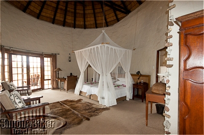 My bungalow was decorated in relaxing neutral tones