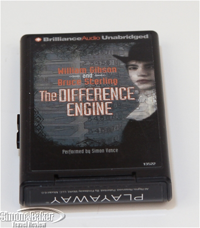 The player displays the book cover