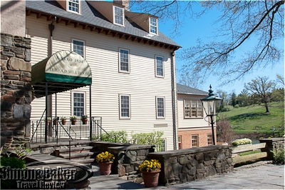The Old Mill Room restaurant was located in the historic part of the property