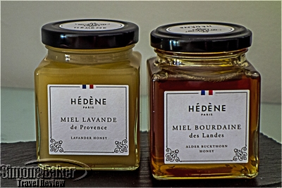 The distinctive square jars