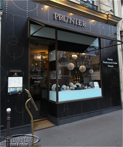 The Prunier shop in Place de la Madeleine, Paris