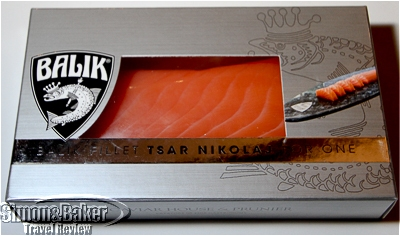 Balik salmon for one.