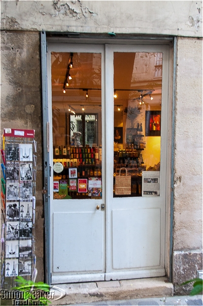 Unassuming doors led to a treasure trove of delicacies from the French heartland.
