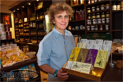Tomat's owner-manager Alexandra Blanchet de Pudhot.