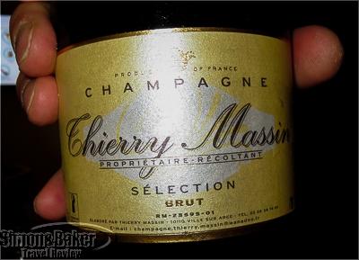 champagne for tasting