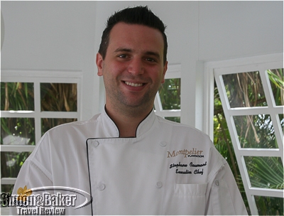 Stephane Caumont, French executive chef at Montpelier Plantation