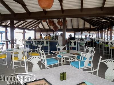 The Sea Breeze Beach Bar at Nisbet Plantation Beach Club