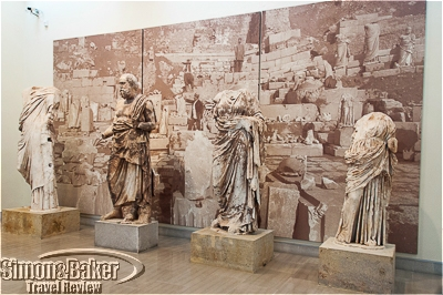 Statuary from the Delphi Archeological Site now on display in its museum