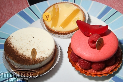 Pierre Hermes treats are tasty and attractive