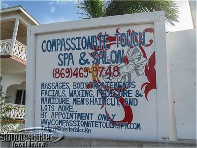 The Compassionate Touch Spa and Salon was in a residential area