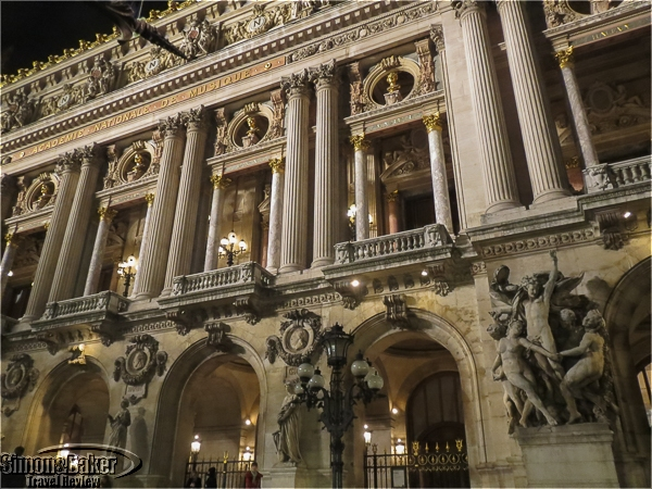 The historical Palais Garnier is a work of art in its own right