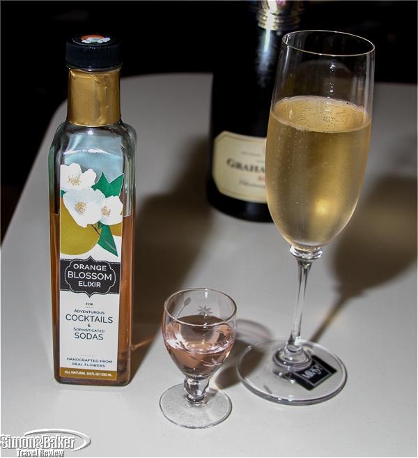 Orange blossom in Brut Champagne