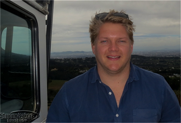 Blake Gowar at the hilltop