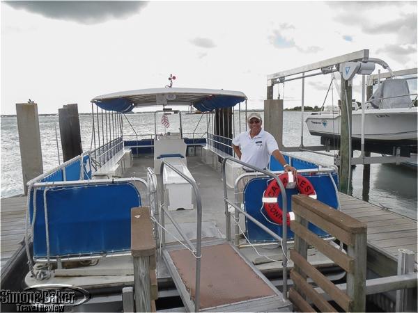 We took a boat from Honeymoon Island to Caladesi Island
