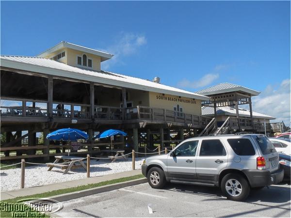 The South Beach Pavilliion Cafe on Honeymoon Island
