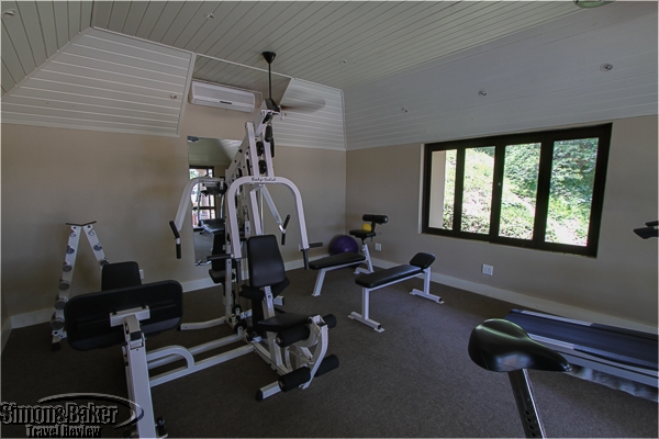 Exercise room at Rattrays