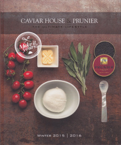 Caviar House and Prunier recipes