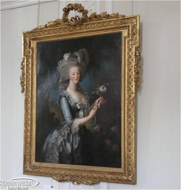 A painting of Marie Antoinete