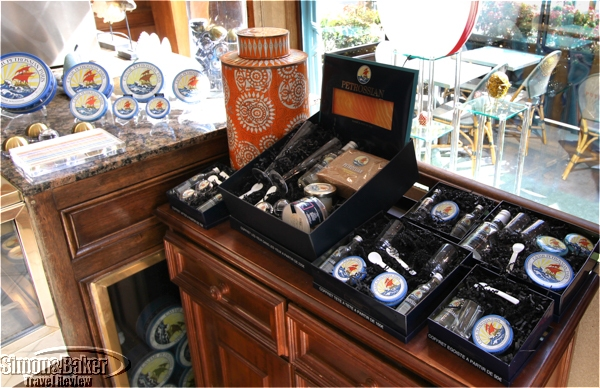 There are gift packages to accompany the caviar