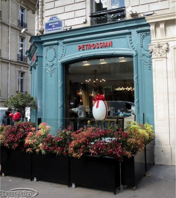 Our memorable Paris Petrossian tasting