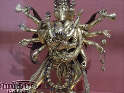 Tibetan deity representing enlightenment