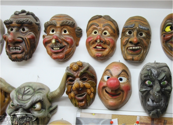 examples of carved masks