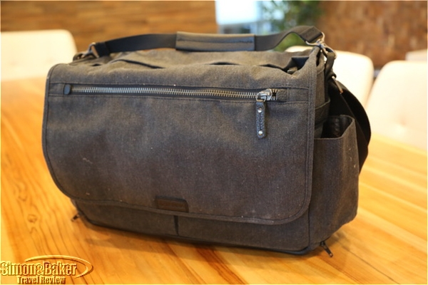 Camera bag could double as stylish briefcase