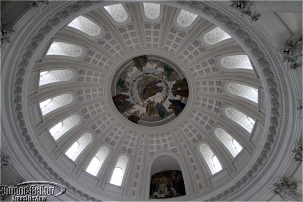 The cupola in St. Blasien Cathedral