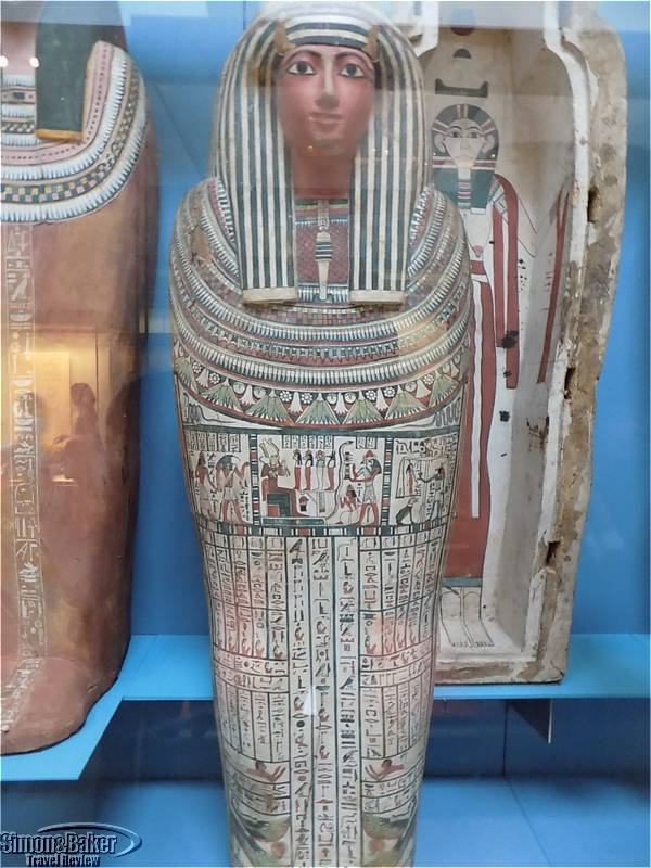 Coffin of Egyptian incense bearer Denytenanum, Temple of Amun, Thebes (9th century B.C.)