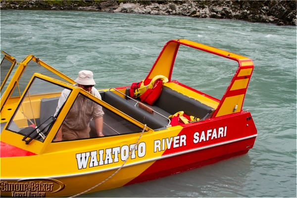 Private river safari on New Zealand Waiatoto River