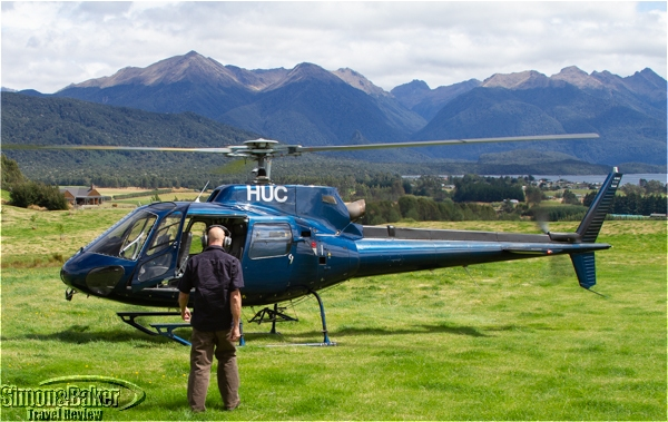 Fiordland, New Zealand by helicopter