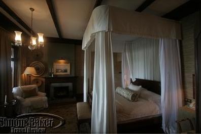 Roosevelt's Cottage bedroom in 2007 at Sasakwa Lodge