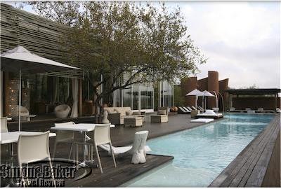 Singita Lebombo swimmingpool (2008)