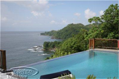 View luxury Villa Being in Tobago